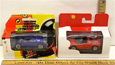 Pair Vintage Matchbox Production Packaging Sample Toy Show Archive Ferrari NOC