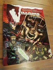 Palladium Villains Unlimited 4th Priting 2005 Long Siembieda Softcover