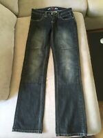 Sartso Killer Ladies Motorcycle Jeans Size 10 with Kevlar Lining