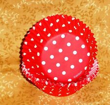 Red Polka Dot Cupcake Papers,Summer Fun,Wilton,415-0148,Bake Cups, 75 ct.Holiday