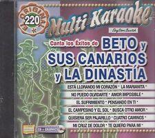 Beto Y Sus Canarios La Dinastia De Tuzantila Multi Karaoke New Nuevo sealed