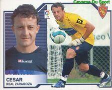 CESAR BRAZIL REAL ZARAGOZA STICKER LIGA ESTE 2008 PANINI