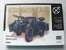 Master Box 3528 German Motorcycle 1:35 Kombiversand möglich