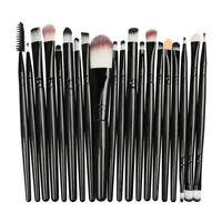 20pcs Makeup BRUSHES Kit Powder Foundation Eyeshadow Eyeliner Lip Brush NEW