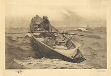 Winslow Homer Prints: Fog Warning: Fine Art Print