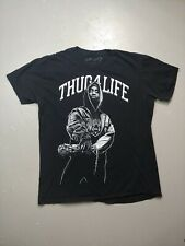 Tupac X Rook T Shirt 2012 Thug 4 Life Size Medium Rap Tee 2pac Amaru 40 oz gs up