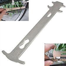 Portátil Cadena Bicicleta Bici Herramienta de indicador de desgaste cadena gauge/reparación Checker caliente