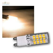 LED Stiftsockel Leuchtmittel G9 warmweiß, 4W, 270lm Mini Stiftsockellampe Birne