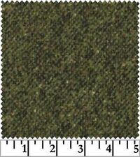 Shadow Play  Woolies  Flannel - Loden Green Tweed F1813-G2