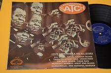 LOUIS ARMSTRONG LP AMBASSADOR SATCH TOP JAZZ UK PRESS EX