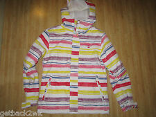 NEW* Billabong M Winter COAT JACKET TOP Izara Ski Snowboarding $185 RV White