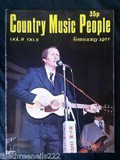 COUNTRY MUSIC PEOPLE - FEB 1977 GEORGE HAMILTON IV