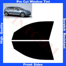 Pre Cut Window Tint VW Golf VII 5 Doors Hatchback 2013-... Front Sides Any Shade