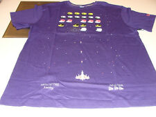 New Era Apparel T Shirt 8 Bit Purple 100% Cotton NWT