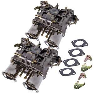 40 IDF twin carburetor for VW Beetle Bug Fiat Porsche w/ air horns 40IDF