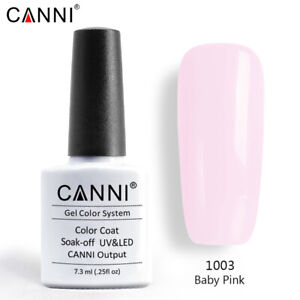 CANNI® UV Nail Gel Nail Polish Soak Off LED Base Matte Tempered Top Coat Varnish