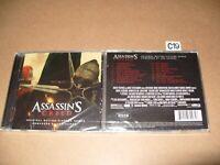 Jed Kurzel  Assassin's Creed 2016 Soundtrack cd New & Sealed