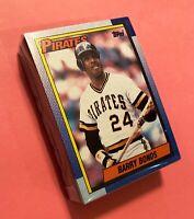 50) BARRY BONDS Pittsburgh Pirates 1990 Topps Baseball Card LOT #220