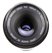 Canon FD Macro 100mm f4 S.C  #22021