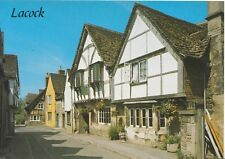 Wiltshire Postcard - The Angel Inn - Lacock -  Ref L18