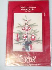 Christmas fabric ornaments craft pattern no sewing
