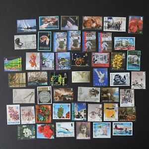 Rare Early 2000s BERMUDA Postage Stamps QEII Mixed Bundle 708