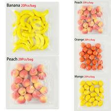 20Pcs Lifelike Decorative Foam Artificial Fake Fruit Home Decoration Craft Sale
