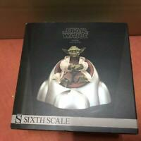 """Yoda Jedi Master STAR WARS SIDESHOW Collectibles 1:6 Scale 12"""" EXCLUSIVE"""