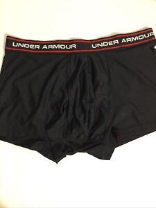 Men's UNDER ARMOUR HEATGEAR Athletic Compression Shorts SZ XL Black