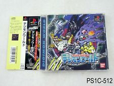 Digimon World 1 Playstation 1 Japanese Import PS1 PS Japan JP US Seller C