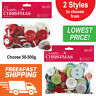 CHRISTMAS CRAFT ASSORTED BUTTONS 50G to 500G - CHOOSE FROM 2 STYLES