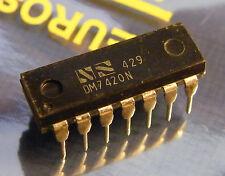 10x dm7420n DUAL 4-INPUT NAND GATE del, National Semiconductor