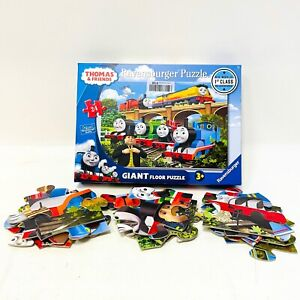 Thomas And Friends Giant Floor 24 Pieces Puzzle Train Tank Engine Puzzles 5550