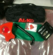 AL-KO Alko No.38 Caravan Security Wheel Lock  2 Keys Unregistered Complete Kit