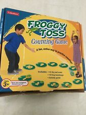 Lakeshore Educational Product Math Froggy Toss Counting Game W Beanbags W Box