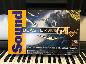 Creative Sound Blaster AWE64 Gold CT4390 CIB Vintage ISA Sound Card