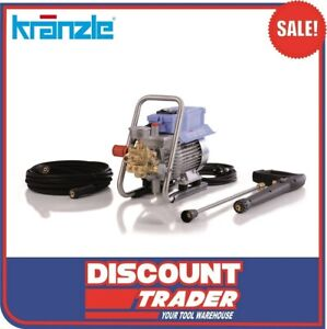 Kranzle HD 7-122 TS High Pressure Washer Cleaner 1740PSI - Made in Germany