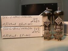 matched pair E180CC Telefunken Heerlen HOLY GRAIL O-Getter NOS TUBE Valvola 74
