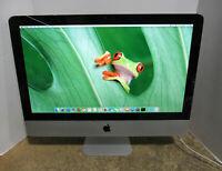 "Apple iMac A1311 21.5"" 2.5GHz Core i5-2400S 4GB RAM 500GB HDD OS 10.11 Mid 2011"