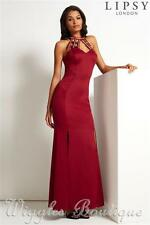 Lipsy Patternless Polyester Maxi Dresses for Women
