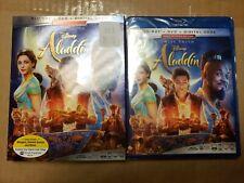 Aladdin (Blu-ray, DVD, Digital)w/slip