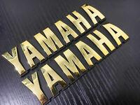 NEW PAIR Yamaha RXK RX-K SR185 XV500 XV920 XZ550 Tank Emblem 3X0-24161-01