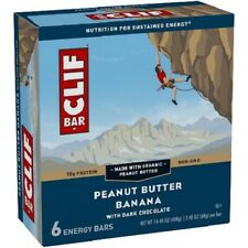 Clif Energy Bars Peanut Butter Banana with Dark Chocolate