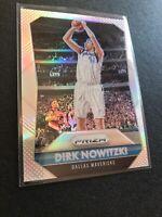 2015-16 Panini Prizm Basketball Silver - Dirk Nowitzki - Dallas Mavericks - #50