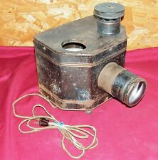 Antique Radio Opticon Electric Picture Viewer Magic Lantern Projector Vintage