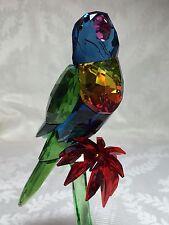 Swarovski SIGNED RAINBOW LORIKEET BIRD *BRAND NEW* 5136832 CRYSTAL FIGURINE