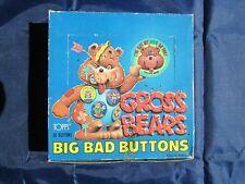 GROSS BEARS Big Bad Buttons