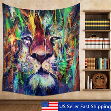 Indian Animal Tapestry Hanging Mandala Hippie Bohemian Bedspread Throw Decor