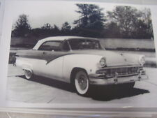 1956 FORD CONVERTIBLE   11 X 17  PHOTO /  PICTURE