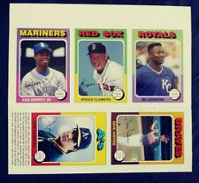 1991 SCD Baseball Pocket Price Guide Griffey Bo Jackson Clemens Canseco uncut